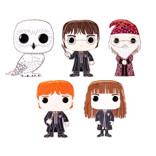 Harry Potter Large Enamel Pop! Pin - 1 Random Pin
