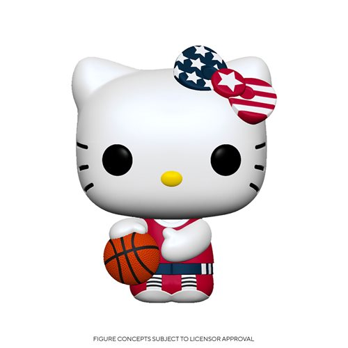 Hello Kitty Team USA Basketball Pop! Vinyl Figure