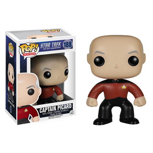 Star Trek Tng Captain Picard Pop Vinyl Figure Funko