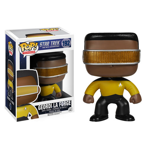 Star Trek: TNG Geordi La Forge Pop! Vinyl Figure