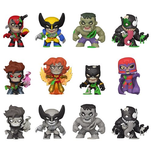 Marvel Zombies Mystery Minis Mini-Figure Random 4-Pack