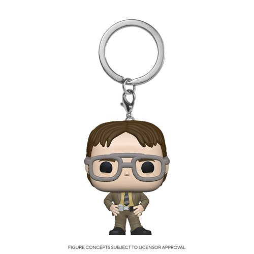The Office Dwight Schrute Pocket Pop! Key Chain