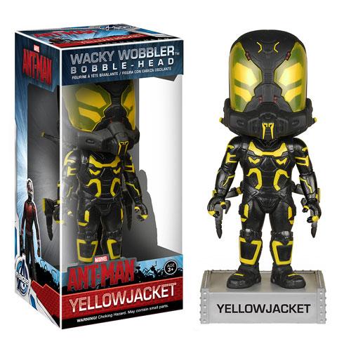 Ant-Man Yellowjacket Bobble Head, Not Mint