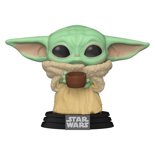 The Mandalorian The Child with Cup Pop! Vinyl Figure