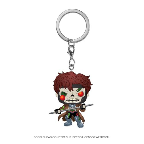 Marvel Zombies Gambit Pocket Pop! Key Chain