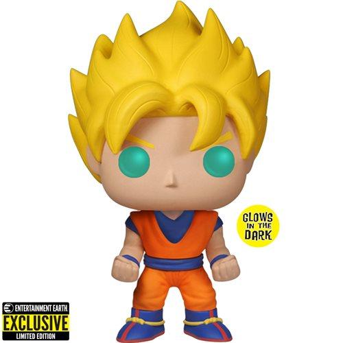 Dragon Ball Z Glow-in-the-Dark Goku Pop! Figure EE Exclusive