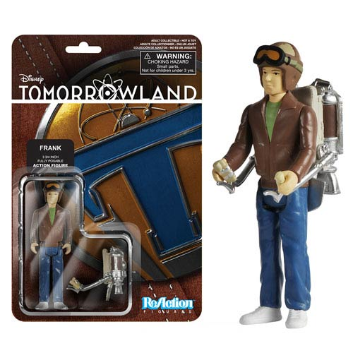 Tomorrowland Young Frank Walker ReAction Action Figure