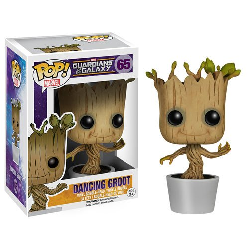 Guardians of Galaxy Dancing Groot Pop! Vinyl Bobble Figure