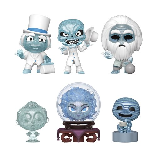 Haunted Mansion Mini Vinyl Figure Display Case