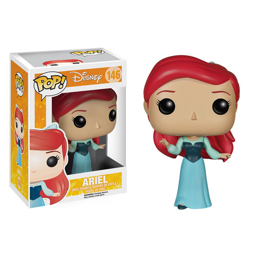 The Little Mermaid Ariel Blue Dress Pop! Vinyl Figure