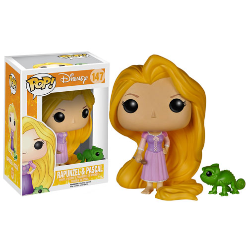 Disney Tangled Rapunzel and Pascal Pop! Vinyl Figures