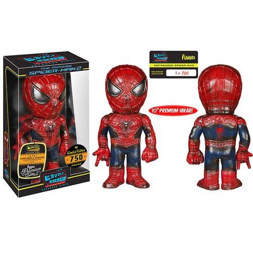 Spider-Man Distressed Premium Hikari Sofubi Vinyl Figure