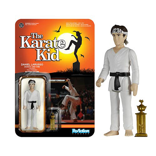 Karate Kid Karate Daniel Larusso ReAction Figure