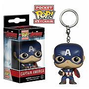 Avengers Captain America Pocket Pop! Vinyl Key Chain