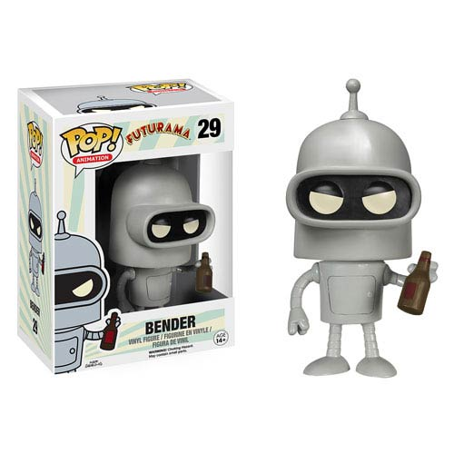 Futurama Bender Pop Vinyl Figure Funko Futurama Pop