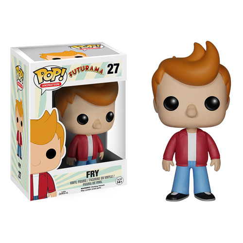 Futurama Fry Pop Vinyl Figure Funko Futurama Pop