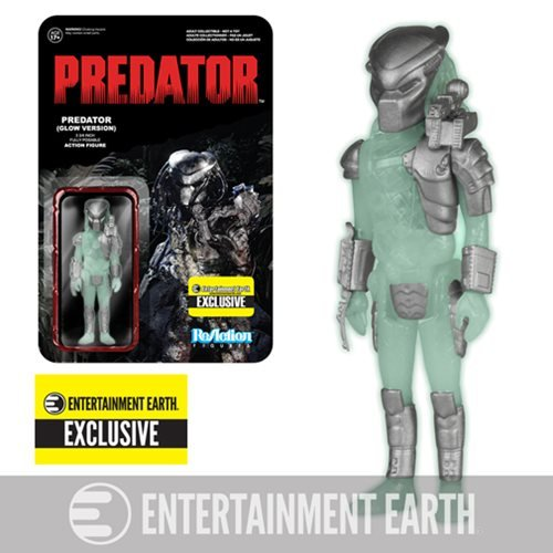 Glow-in-the-Dark Predator ReAction Figure - EE Exclusive
