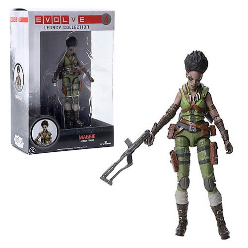 Evolve Maggie Legacy Collection Action Figure