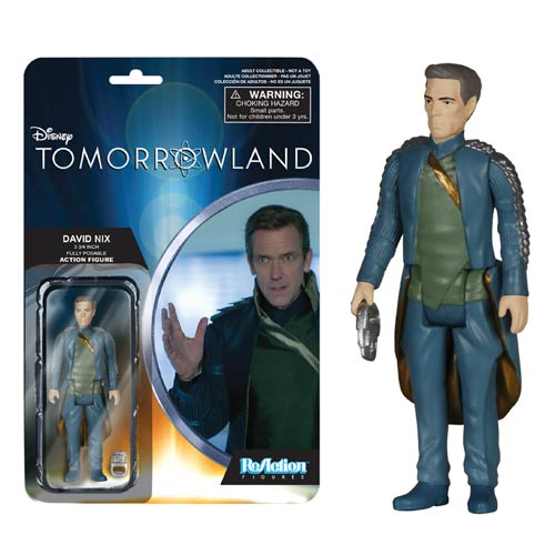 Tomorrowland David Nix ReAction Action Figure, Not Mint