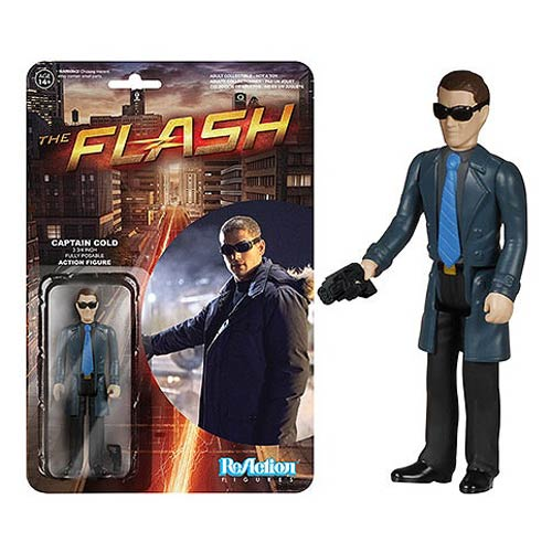 Flash Tv Series Captain Cold Reaction Action Figure