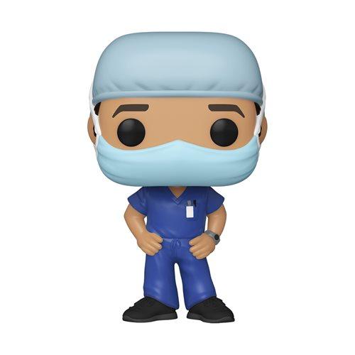 Front Line Worker Male Hospital Worker #1 Pop! Vinyl Figure