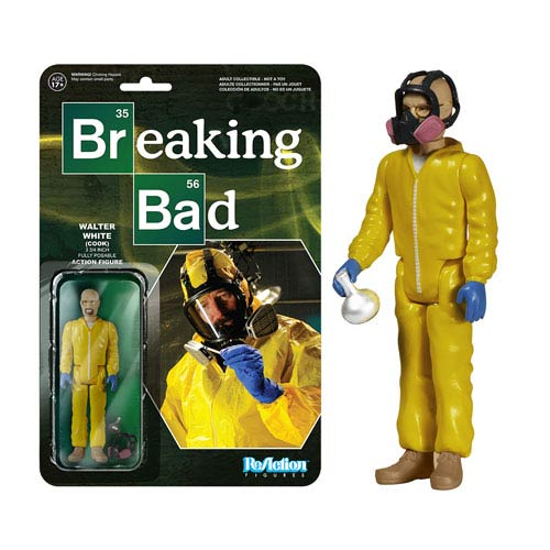 Breaking Bad Walter White Cook ReAction Figure