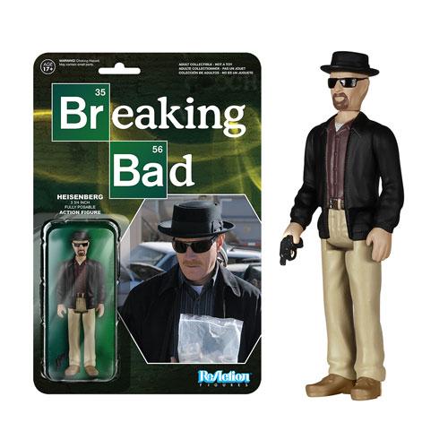 Breaking Bad Heisenberg ReAction Figure