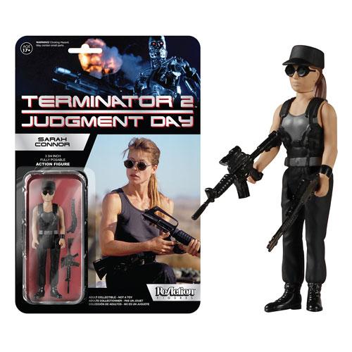 Terminator 2 Sarah Connor Reaction Action Figure Funko