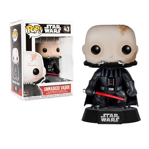 Star Wars Darth Vader Unmasked Pop! Vinyl