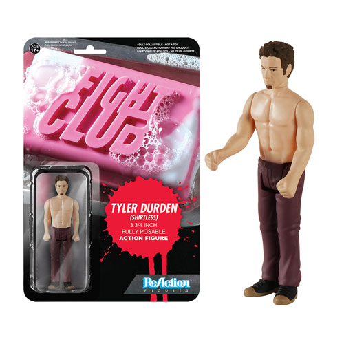 Fight Club Shirtless Tyler Durden ReAction Action Figure