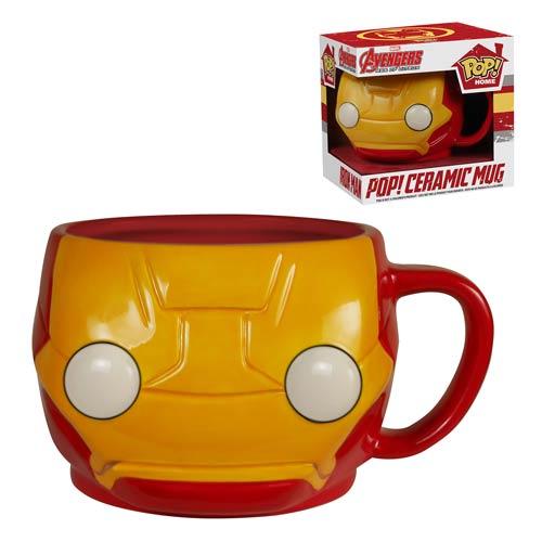 Iron Man Pop! Home 12 oz. Mug