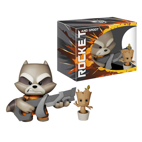 Guardians of Galaxy Rocket Raccoon Super Deluxe Vinyl Figure