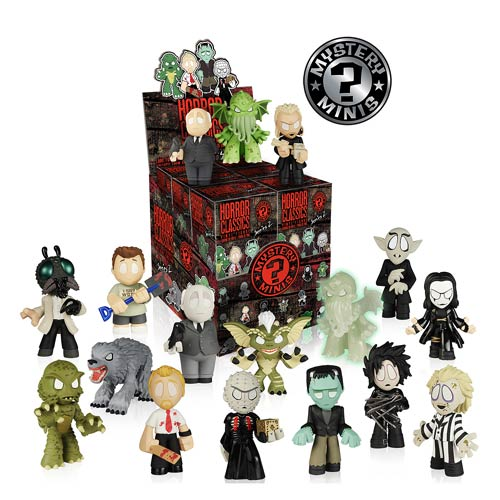 Werewolf Toys For Boys : Horror collection mystery minis series display case