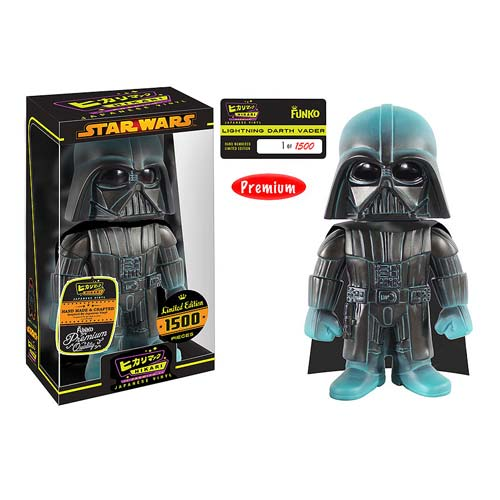 Star Wars Darth Vader Lightning Premium Hikari Vinyl Figure