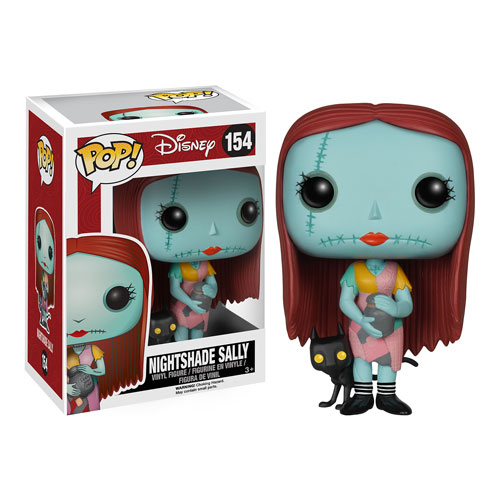 Nightmare Before Christmas Sally with Nightshade Pop! Figure