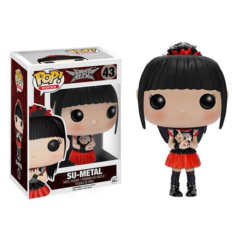 Babymetal Su Metal Pop Vinyl Figure Funko Music Pop