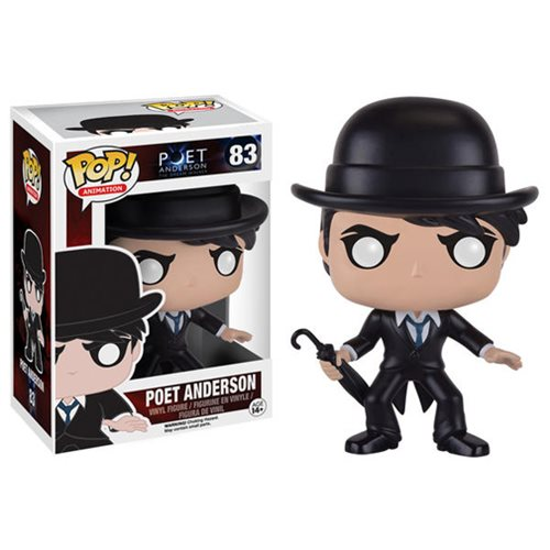 Poet Anderson Pop Vinyl Figure Funko Movies Pop