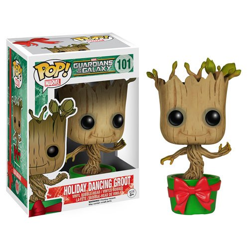 Guardians of the Galaxy Holiday Dancing Groot Pop! Figure