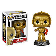 Star Wars Episode VII C 3PO Pop Vinyl Bobble Head