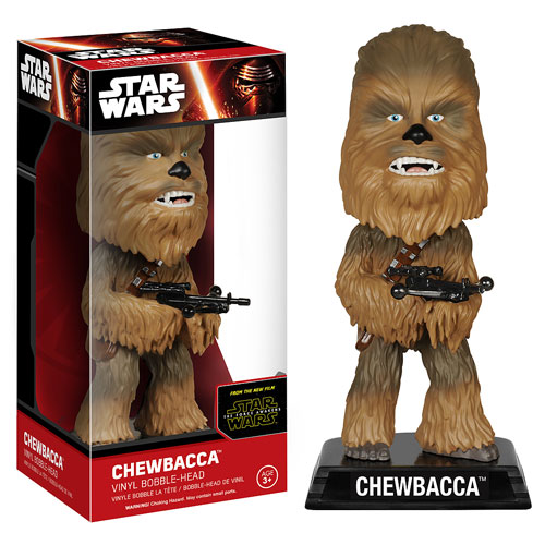 Star Wars Ep. 7 - The Force Awakens Chewbacca Bobble Head
