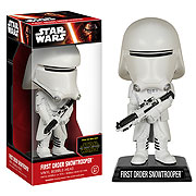 Star Wars Episode VII The Force Awakens First Order Snowtrooper Bobble Head