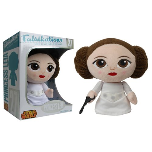 The Plush Is Strong with This Fabrikations Princess Leia