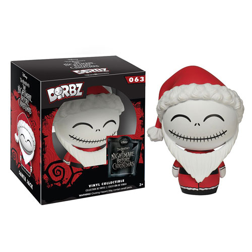 The Nightmare Before Christmas Santa Jack Dorbz Vinyl Figure