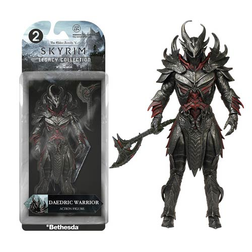Skyrim Daedric Warrior  Legacy Collection Action Figure