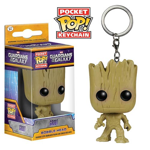 Guardians of the Galaxy Groot Pocket Pop! Key Chain