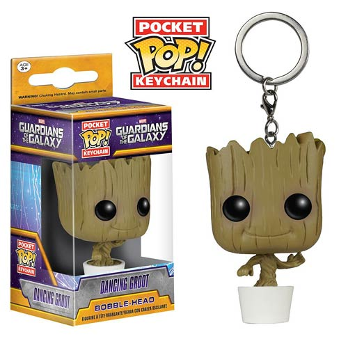 Guardians of the Galaxy Baby Groot Pocket Pop! Key Chain