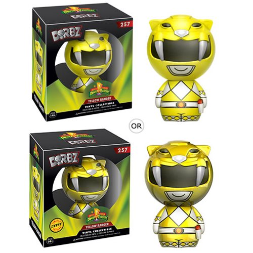 Mighty Morphin' Power Rangers Yellow Ranger Dorbz Figure
