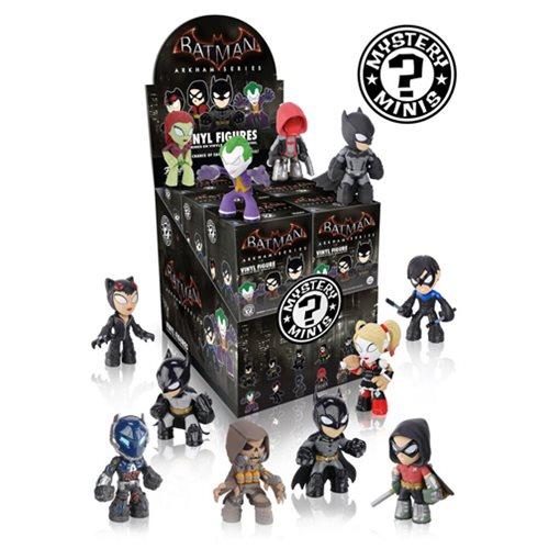 Batman Arkham Series Mystery Minis Vinyl Figure Display Case