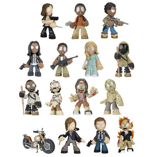 The Walking Dead Mystery Minis Series 4 Random 4 Pack