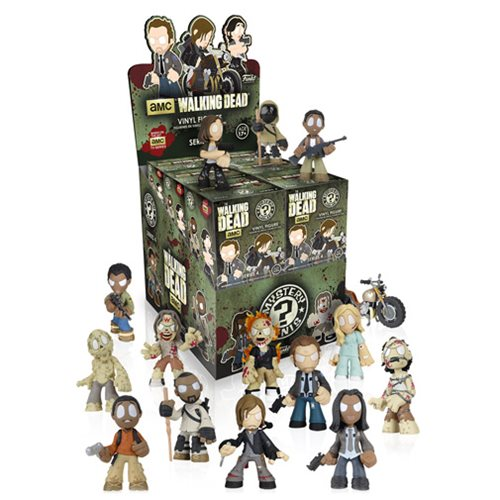 The Walking Dead Mystery Minis Series 4 Display Case